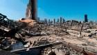 Familia cuenta cómo sobrevivió a metros la explosión en Beirut