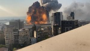 Beirut: video muestra otra perspectiva de la explosión