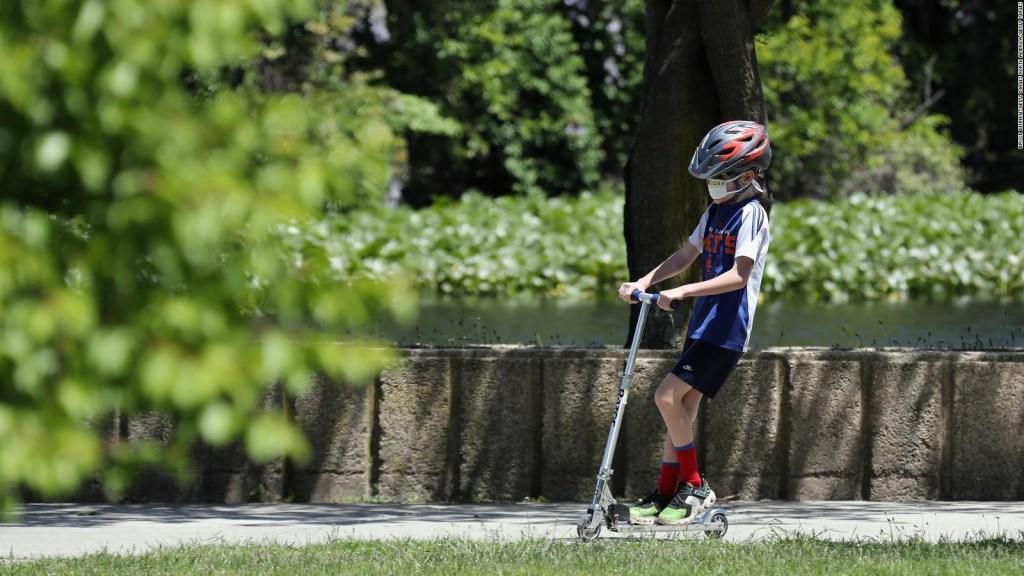 Estudio: niños pueden portar covid-19 por semanas sin síntomas