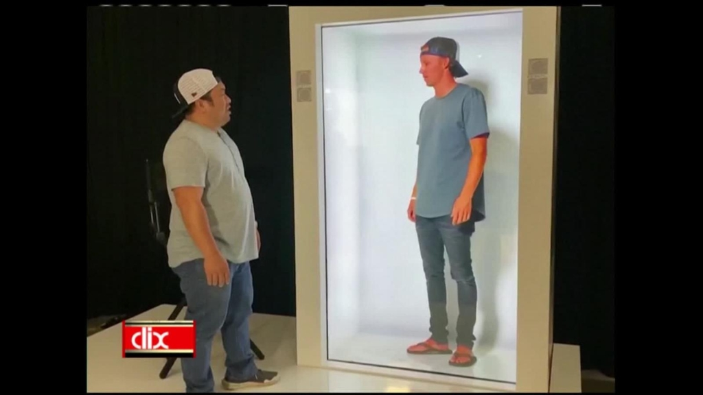 Máquina te permite hablar con el holograma de una persona
