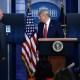Trump abandona una conferencia por un tiroteo