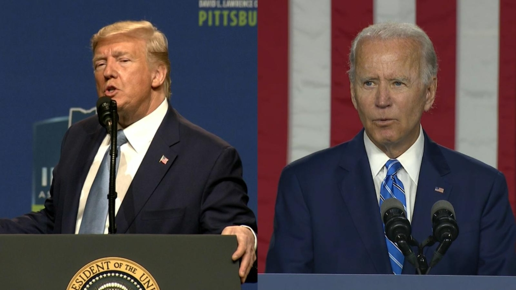 Trump frente a Biden: sus posturas sobre cambio climático