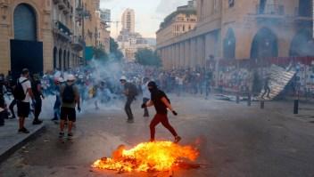 Tras explosión en Beirut, renuncia cúpula de gobierno del Líbano