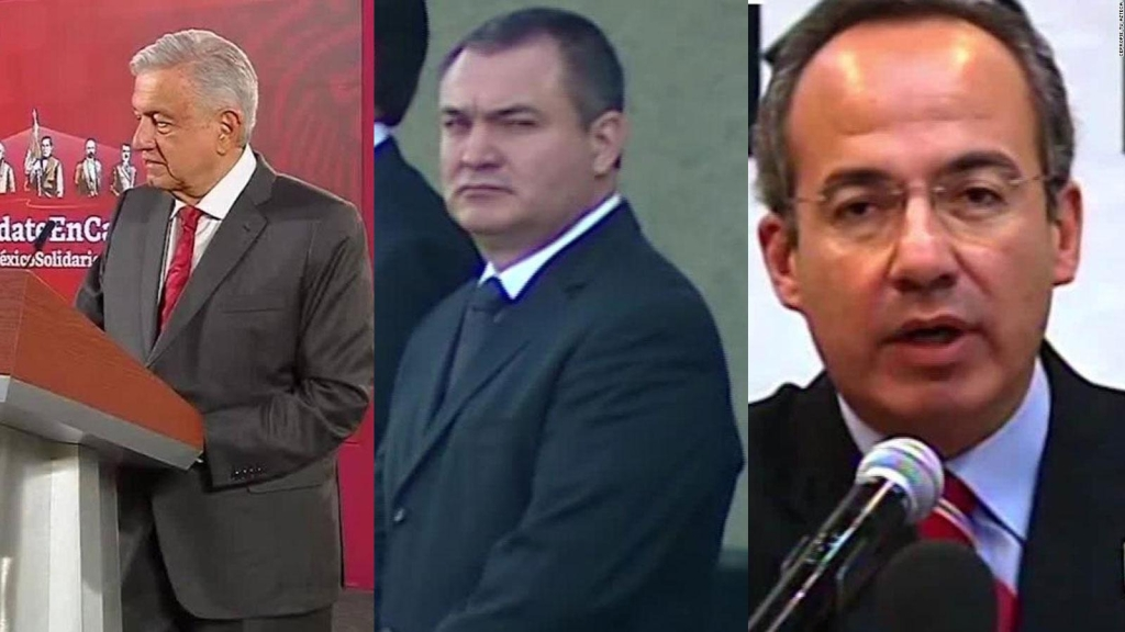"""Calderón pide pruebas a AMLO sobre """"narcoestado"""" en su gobierno"""