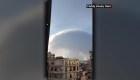 La razón por la que se formó una nube de hongo en Beirut