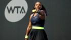 Así fue el regreso triunfal de Serena Williams a las canchas