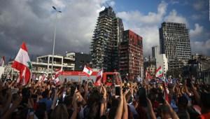 Beirut: una semana después de la explosión