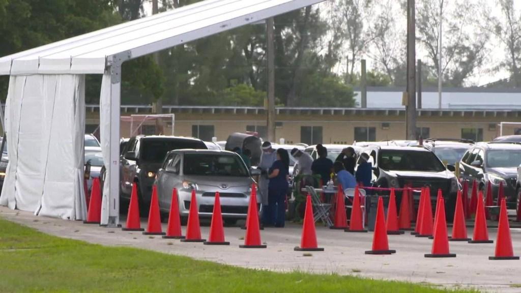 Floridad: bajan los contagios pero suben los fallecidos
