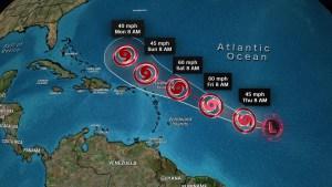 Próxima amenaza tropical para el Atlántico en camino
