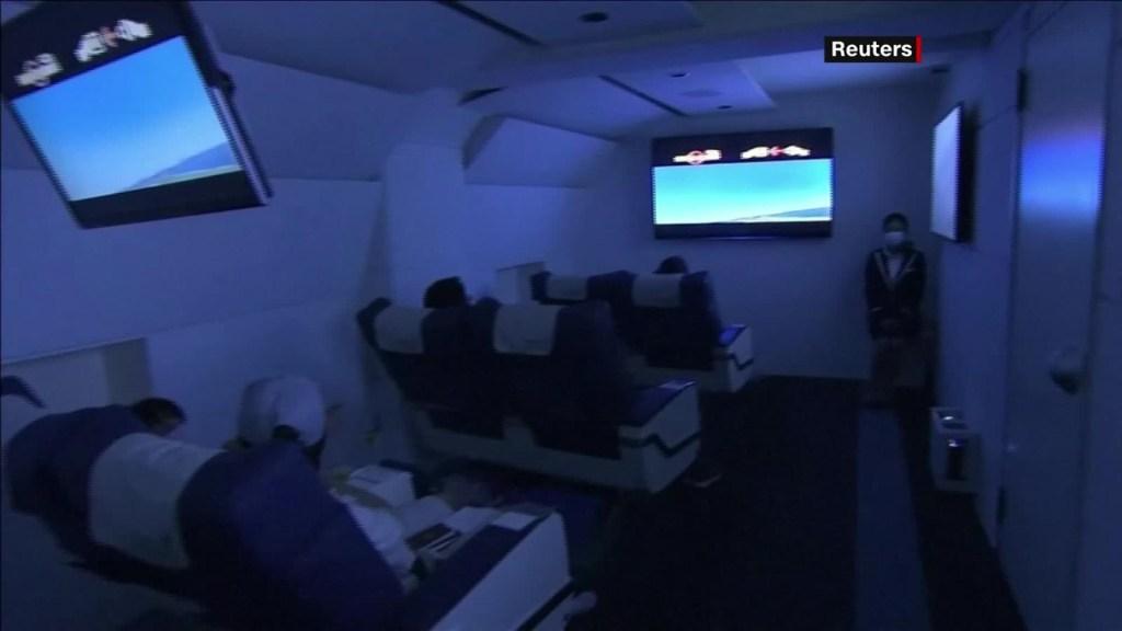 Una novedosa propuesta para viajar en avión sin despegar