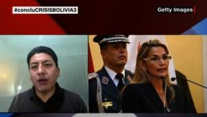 Marco Pumari habla sobre la candidatura de Jeanine Áñez