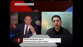 """Pumari critica a la """"vieja clase política"""" de Bolivia"""
