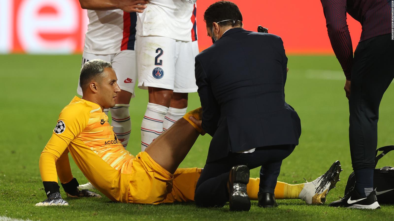 El arquero del PSG se pierde por lesión el partido contra el Leipzig.