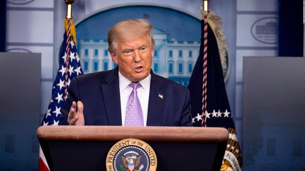 Trump tilda plan de Biden para la pandemia como retroceso