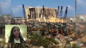 El duro testimonio de una joven ecuatoriana en Beirut