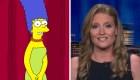 Marge Simpson le responde a la asesora de Trump