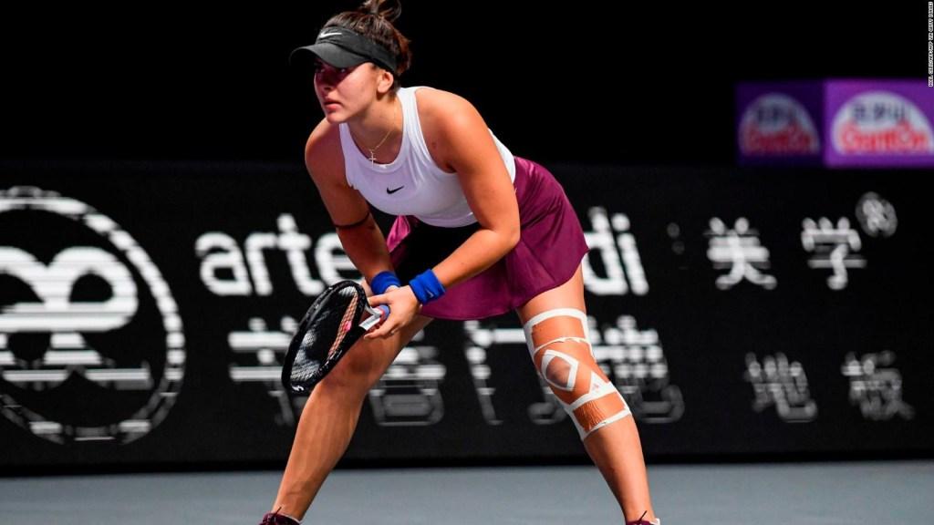 Otro duro golpe para el US Open: Bianca Andreescu no jugará