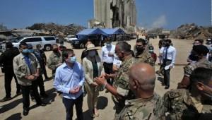EE.UU. y Francia también investigan en Beirut