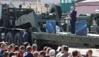 Lukashenko envía tropas a la frontera oeste de Belarús