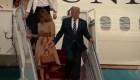 ¿Rechazó Melania la mano de Trump?