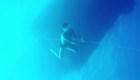 Cristiano Ronaldo se sumerge hasta el fondo del mar
