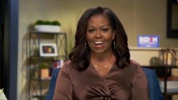 Michelle Obama habla sobre Biden en la convención demócrata