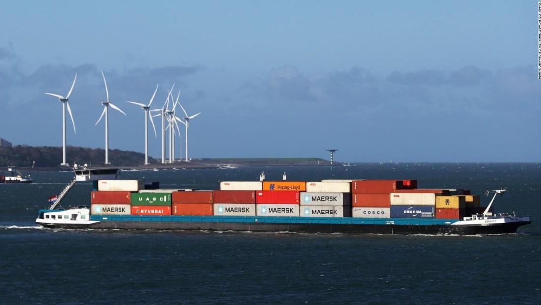 Europa quiere cobrar a barcos cargueros por sus emisiones