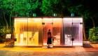 Nuevos baños públicos en Tokio