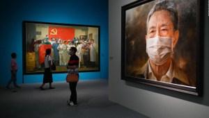 Cuando el arte homenajea a los trabajadores sanitarios