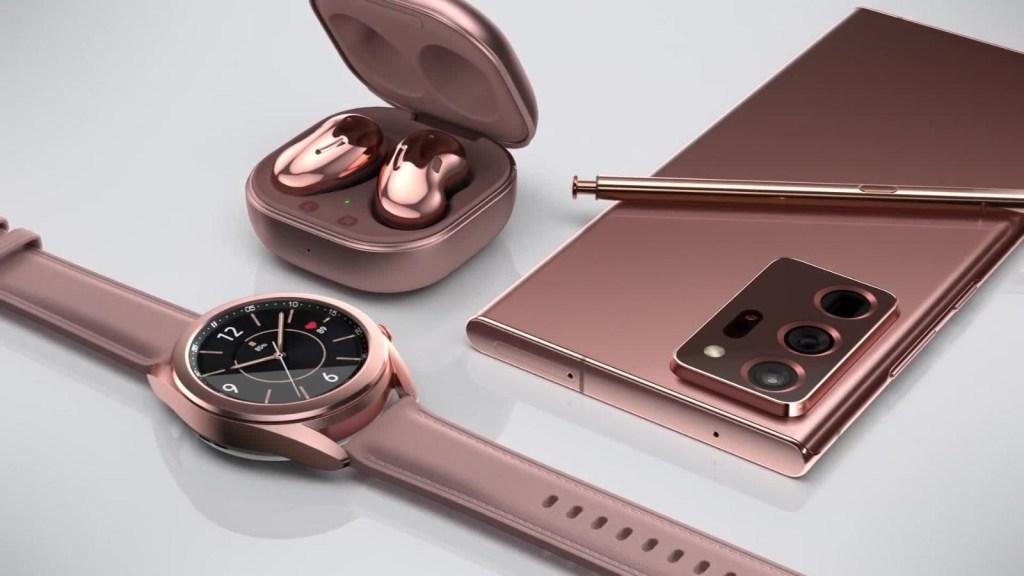Detalles del Note20 y otros lanzamientos de Samsung