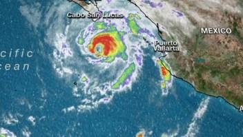 Genevieve pone en alerta a la costa sur de Baja California