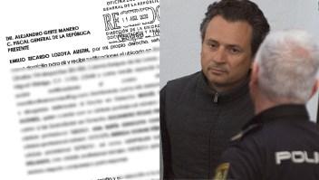 Investigan cómo se filtró denuncia de Emilio Lozoya