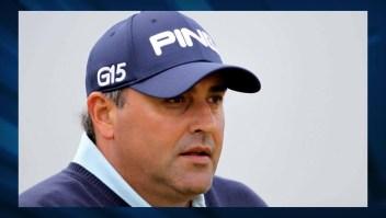 Ordenan captura del golfista argentino Ángel Cabrera