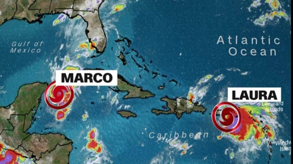 Tropical storm Laura arrives in Puerto Rico