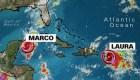 Tormenta tropical Laura llega a Puerto Rico