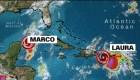 Tormenta tropical Laura amenaza República Dominicana