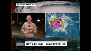 El paso de la tormenta Laura por Puerto Rico