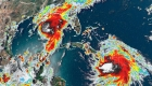 Pronósticos: avance de ciclones Laura y Marco hacia EE.UU.