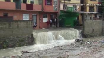 Las imágenes de los destrozos de Laura en Santo Domingo