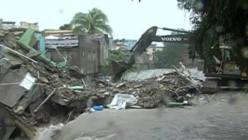 Tres personas murieron en Santo Domingo por inundaciones