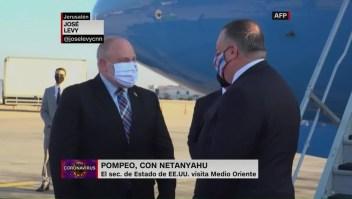 Mike Pompeo se reunió con Netanyahu en Israel