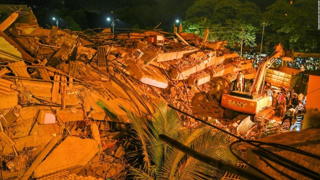 Mueren varias personas tras derrumbe en la India