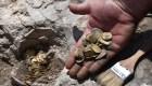 Dos jóvenes descubren monedas de oro de hace 1.100 años