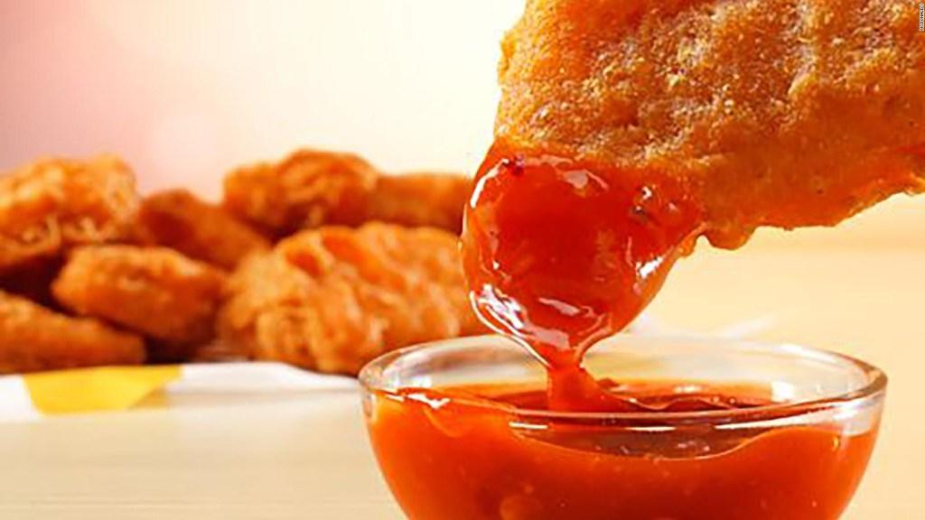 McDonald's spicy food to boost sales