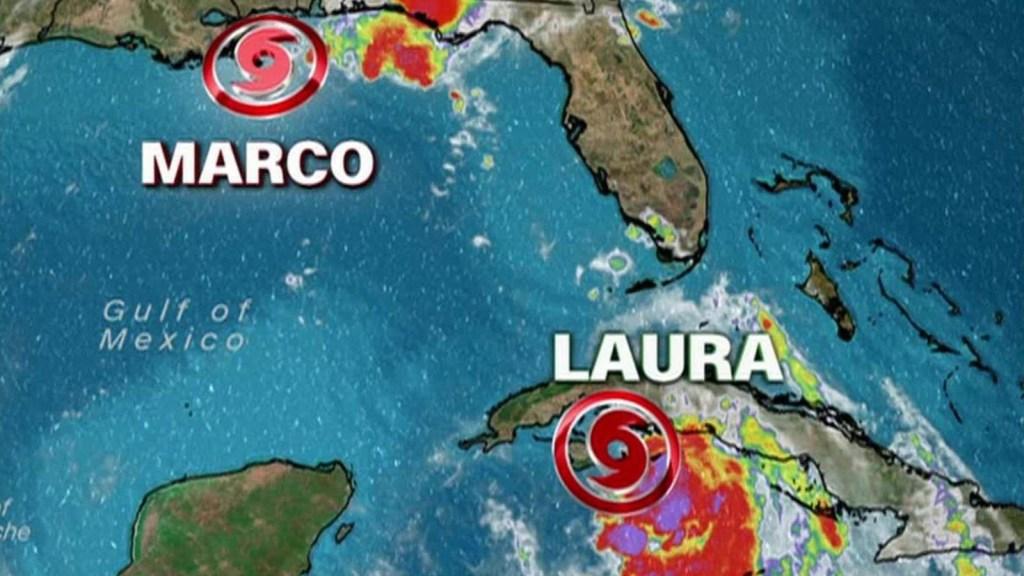 Marco trae más lluvia, pero Laura promete ser huracán categoría 2