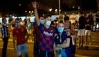 Así está el Camp Nou después del anuncio de Messi