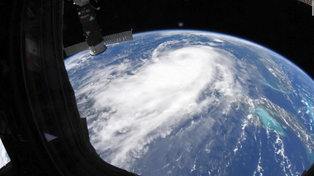 Imágenes desde el espacio muestran la fuerza de Laura