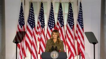 Así fue el discurso de Melania Trump