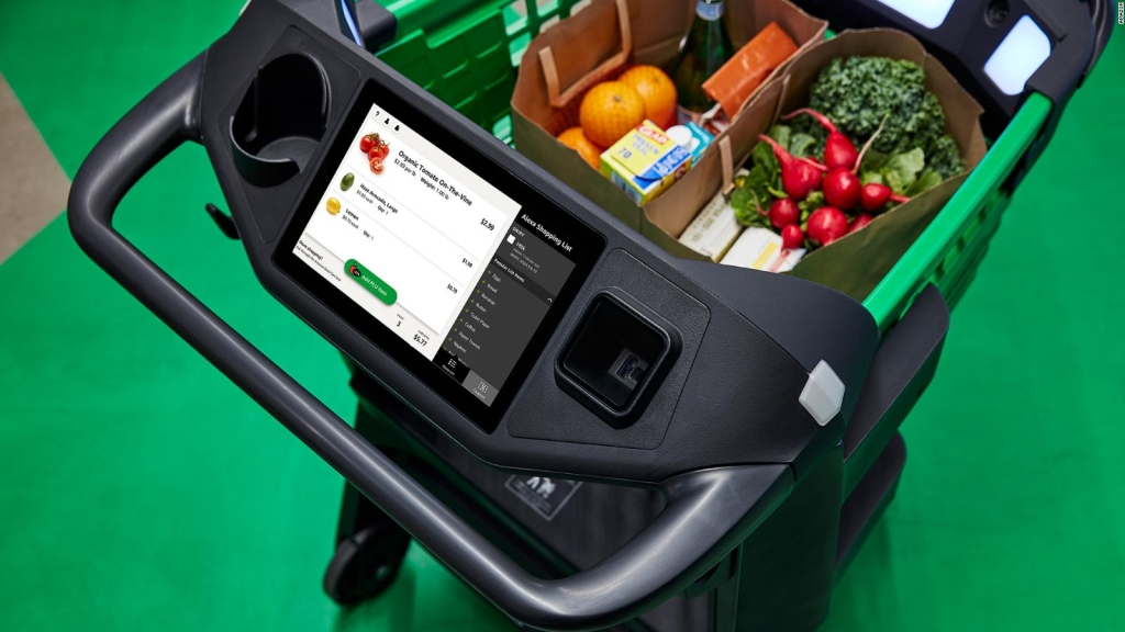 Amazon opens tech-packed grocery stores