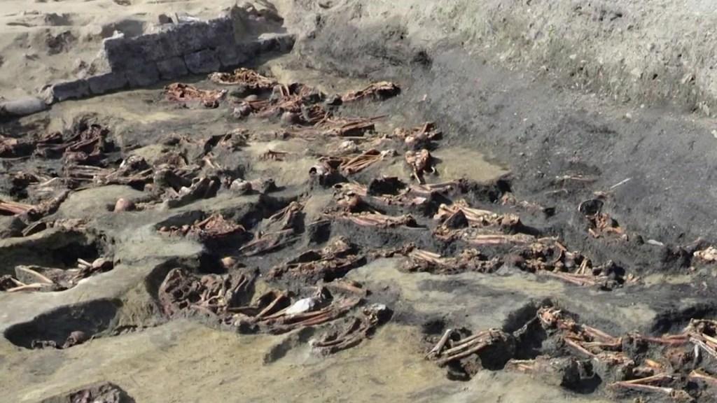 Encuentran 1.500 huesos humanos en una fosa en Japón